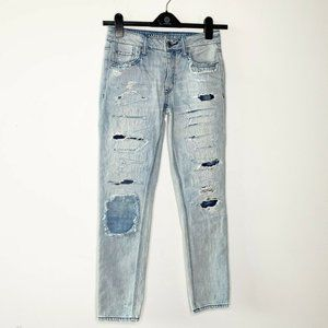 American Eagle 100% Cotton Tomgirl Jeans